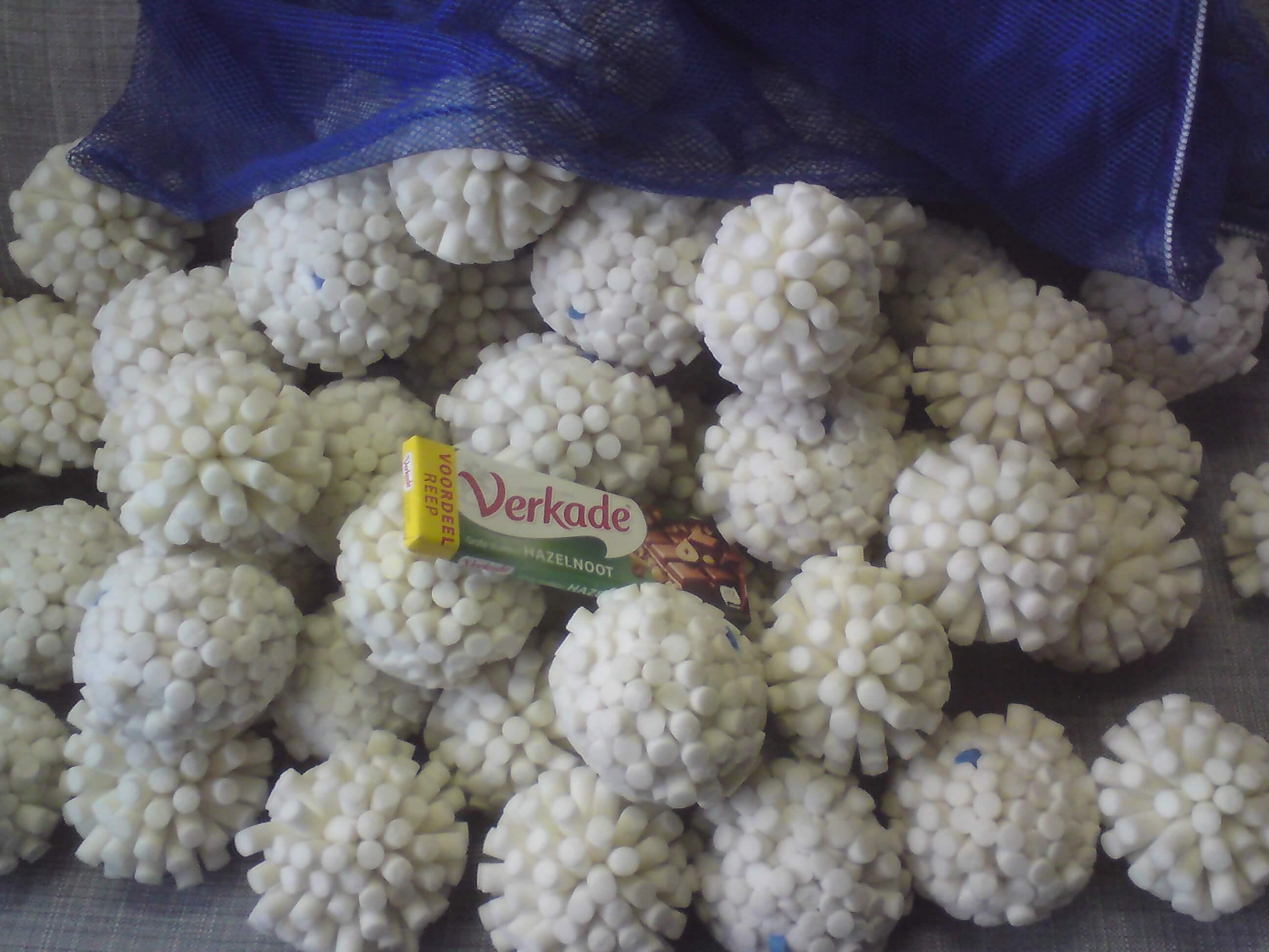 100 Droge Sneeuwballen