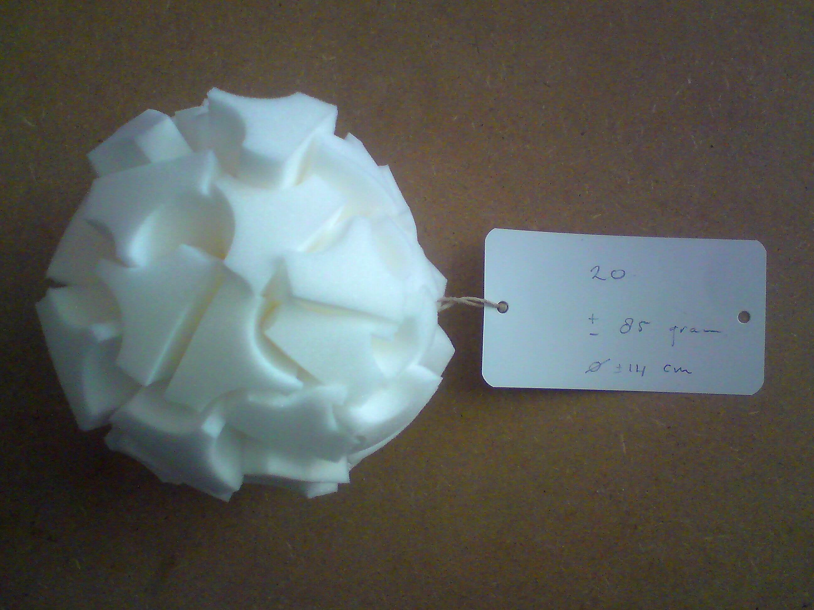 003a – Droge Sneeuwbal